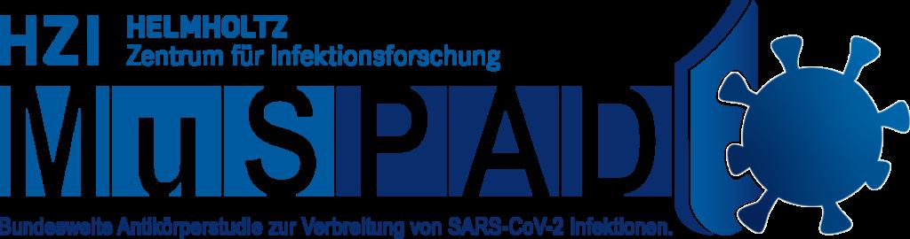 MuSPAD Logo blue